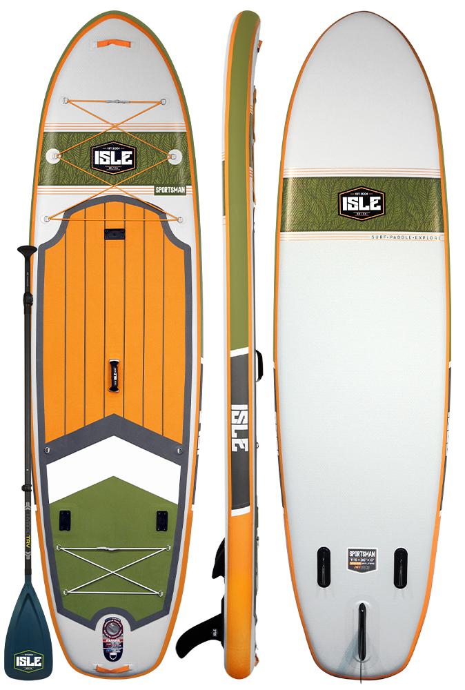 "ISLE SPORTSMAN 11'6"" | SUP | Boarders Guide"