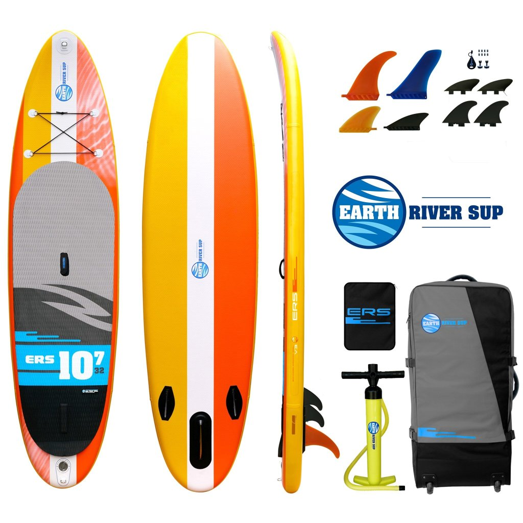 EARTH RIVER SUP 10-7 V3 CLASSIC | Boarders Guide | Review