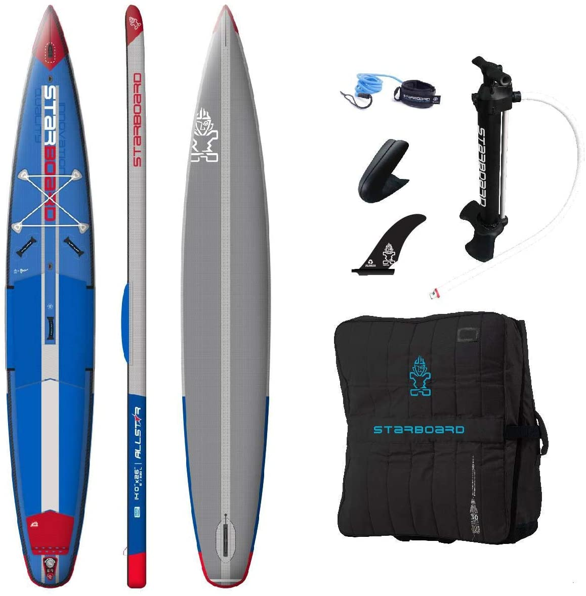 "STARBOARD ALL STAR INFLATABLE 14″0"" X 26″"