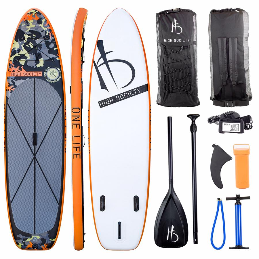 HIGH SOCIETY: NORTHSTAR STAND UP PADDLE BOARD PACKAGE