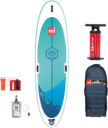 Activ Yoga | Red Paddle Co | Boarders Guide