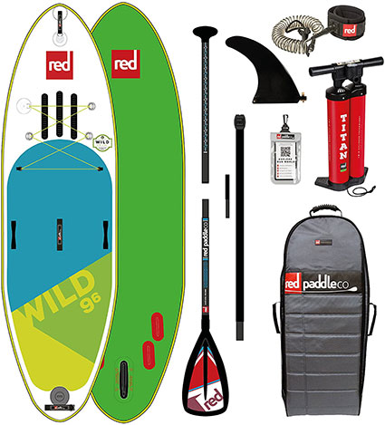 """Red Paddle Co: 9'6"""" Wild Whitewater"""