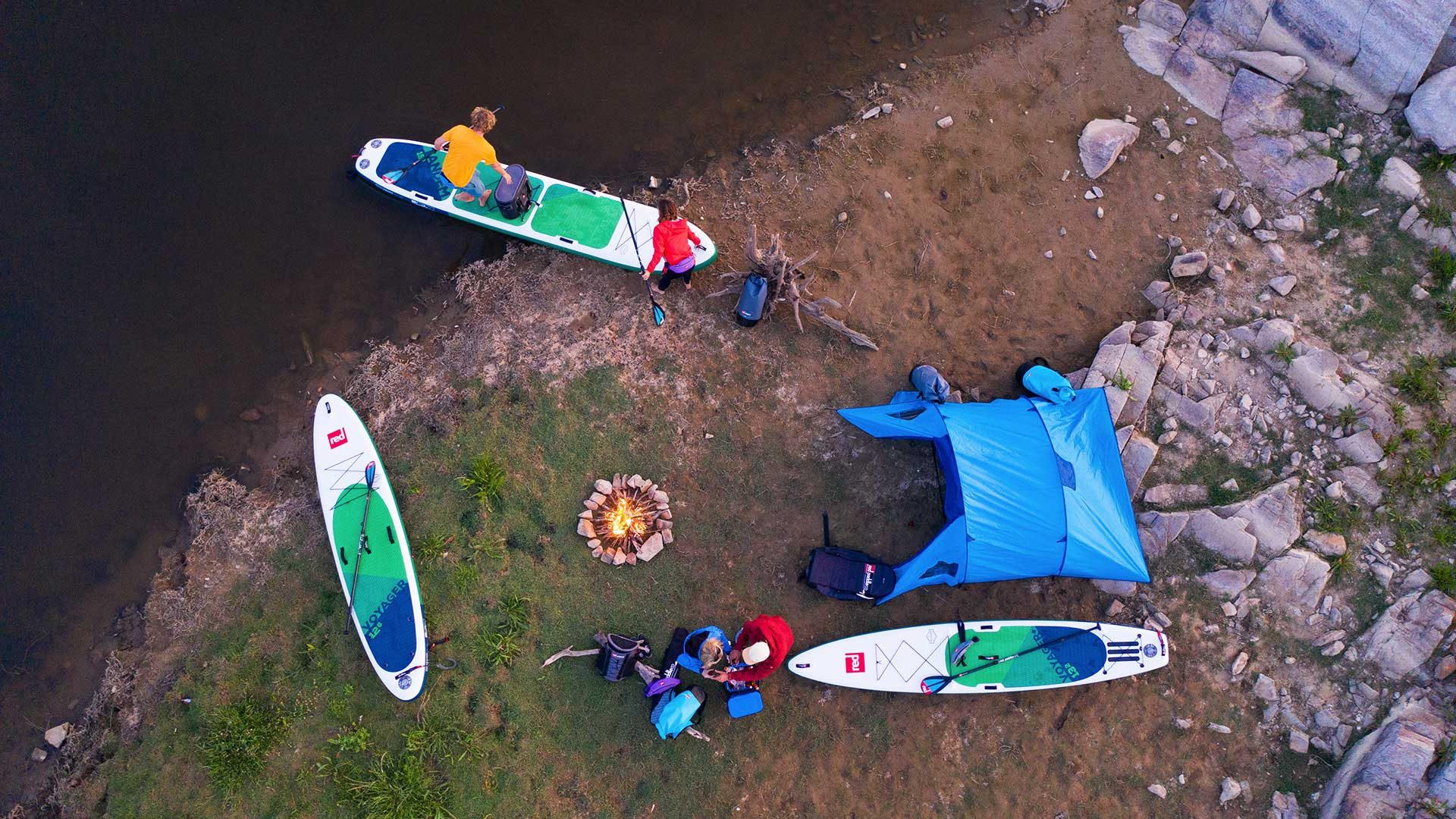 Red Paddle Co: Voyager 15' Tandem