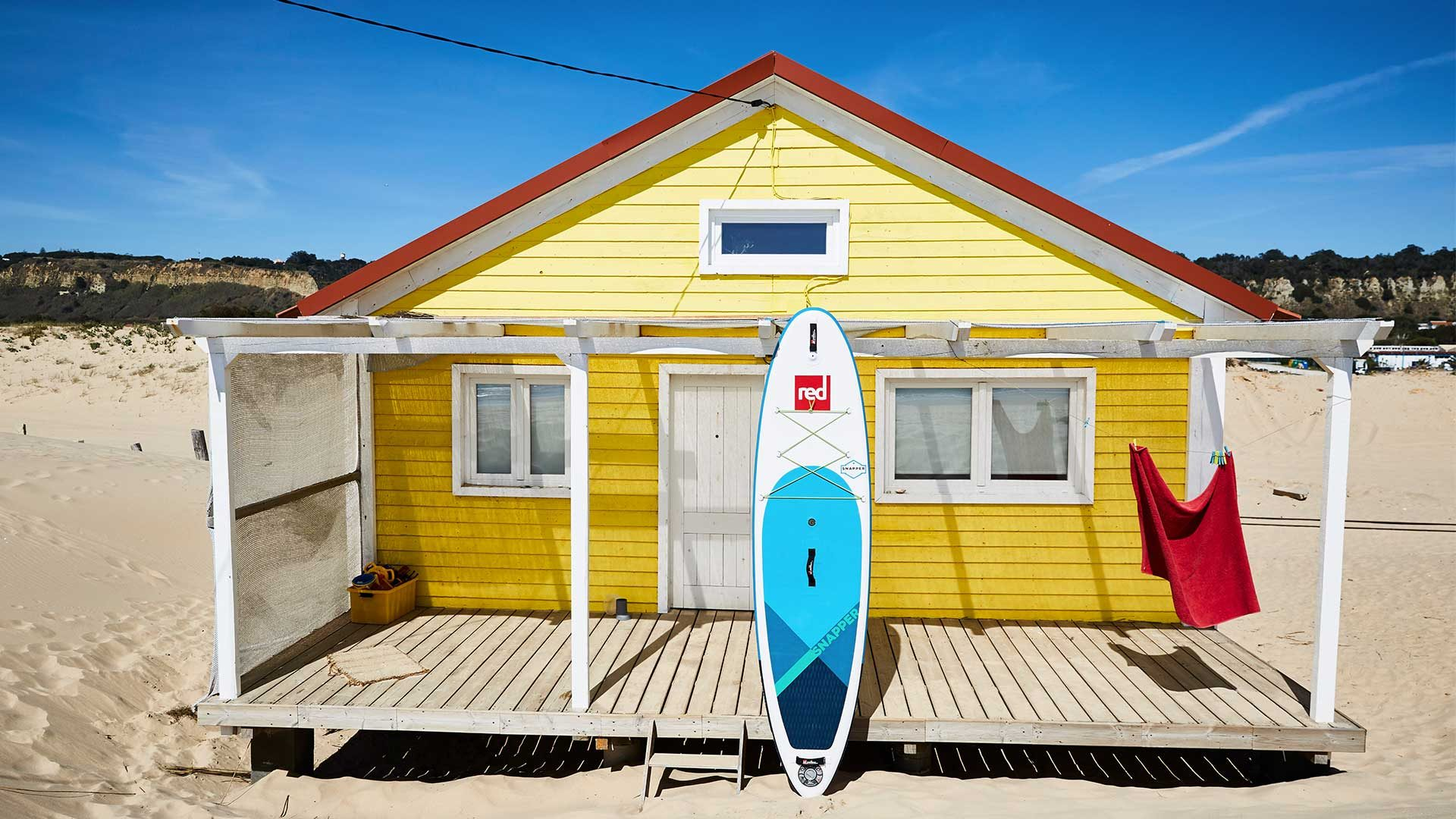 """Red Paddle Co: 9'4"""" Snapper Kids SUP Board Package"""